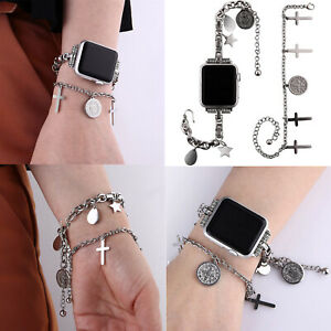 For Apple Watch iWatch Series SE 6 5 4 3 40/40mm Jewelry Band Women Boho Chains