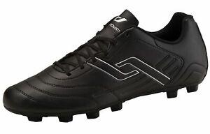 Pro-Touch-Adultes-cames-Chaussure-De-Football-Classic-MXG-Noir-Blanc