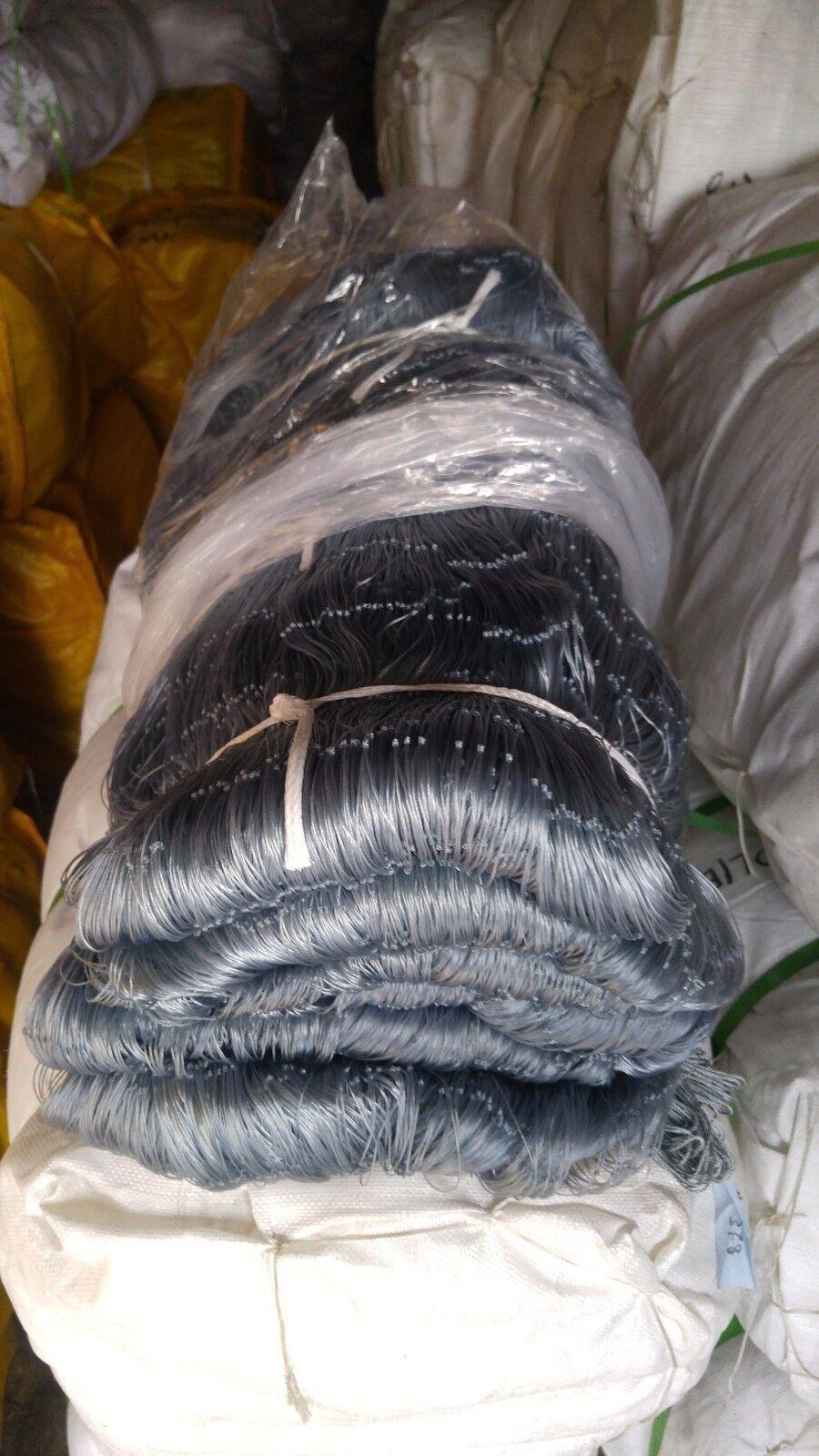 51/16 inch 60 mesh 630ft Alaska Twist fishing / Smoky gill net Smoky / Grau c72fb6
