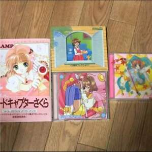 Very-Rare-Japanese-Anime-Cardcaptor-Sakura-CD-set-From-JAPAN-F-S