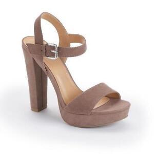 LC LAUREN CONRAD | Azalea Womens High Heel Sandal NWT