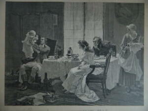 Grabado Camille Desmoulins Según Cuadro De François Flameng 1923