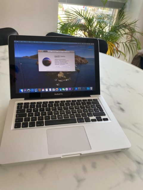 MacBook Pro, Mid 2012, 2,5 GHz, 4 GB ram, 500 GB harddisk,…