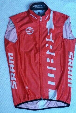 Castelli WIND STOPER GORE Vest rojo TEAM SRAM Talla  S    J63 (D)  Precio al por mayor y calidad confiable.