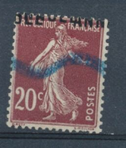 France-Cours-d-039-instruction-N-139-CI-Surcharge-decalee-doublee-Cote-145-N2180