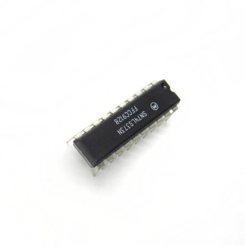 5//10PCS SN74LS373N MOTOROLA IC OCT D-TYPE LATCH 20-DIP Brand New