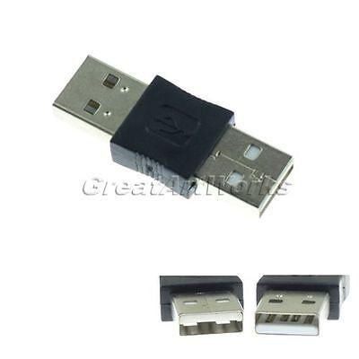 1x USB 2.0 Typ A Stecker auf A Stecker Connector Adapter Koppler Drucker Scanner
