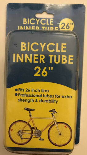 TWO Bicycle Inner Tire Tube Kids//Adults Bike 26/'/' Strength Size 18/'/',20/'/',24/'/'