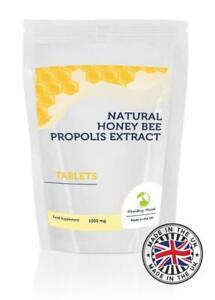 PROPOLIS-Fresh-Bee-Resin-1000mg-90-Tablets-Pills-Supplements