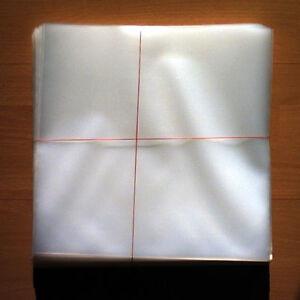 100-LP-Vinyl-Plastic-Schutzhuellen-Sleeves-DICK-THICK-fuer-12-034-Schallplatten-NEU