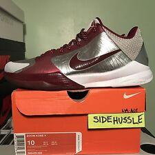 Nike Zoom Kobe V 5 Ace Lower Merion (386429-005) Sz 10 Chaos MLK IV 4 VI 6 8 IX