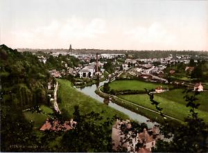 France-Saint-Lo-Vue-generale-vintage-print-photochromie-vintage-photochrom