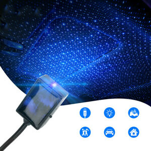 USB-Car-SUV-Interior-Roof-Atmosphere-Ambient-Lamp-LED-Projector-Star-Night-Light