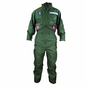 Highlander-Flying-Suit-US-Air-Force-Style-Flight-Uniform-Olive-Green