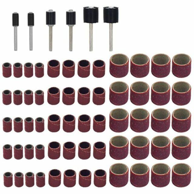 66Stk Trommelschleifmaschinen-Set,Einschliesslich 60Stk Schleifbaender Und  A4A2