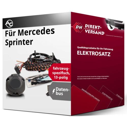 EBA Für Mercedes Sprinter Kasten//Kombi//Bus Elektrosatz 13polig spezifisch inkl