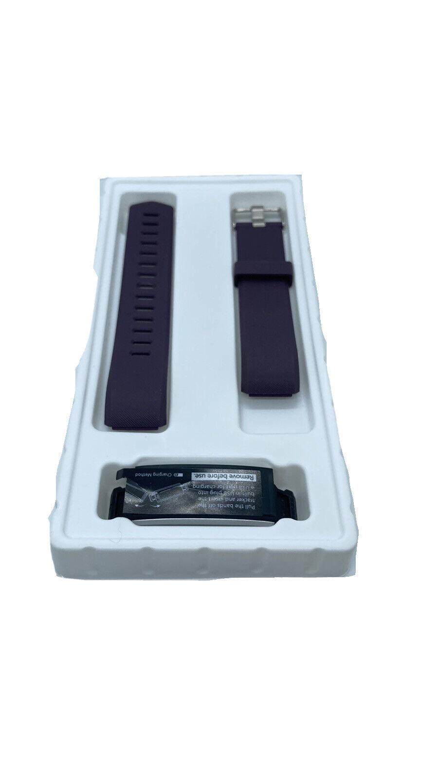 Lintelek Fitness Tracker Heart Rate Monitor ID115Plus HR Purple