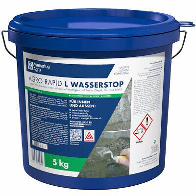 Business & Industrie Baugewerbe Herrlich Avenarius Agro Rapid L Wasserstopp Spezialzement Bei Wassereinbruch 5 Kg 420012 Grade Produkte Nach QualitäT