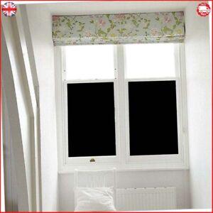 Stick On Blackout Blinds Window 100 Light Blackout Uv Resitant 44 5 200cm 6962942858559 Ebay