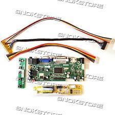 HDMI VGA DVI AUDIO LCD CONTROLLER BOARD DIY MONITOR KIT LTN150XD-L02 1024X768 Equipement électrique, d'essai