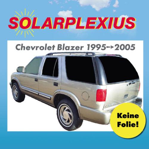 Auto Sonnenschutz fertige Sonnenblenden keine Folie Chevrolet Blazer 1995-05