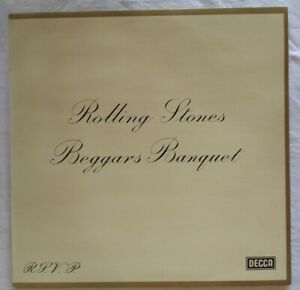 ROLLING-STONES-Mint-1970-12-034-LP-Beggars-Banquet-Decca-622157-BL-Germany
