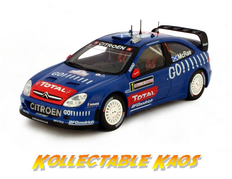 SUNSTAR 1 18 - 2006 Turquía-RALLY Kronos Citroen - McRae Malta molida
