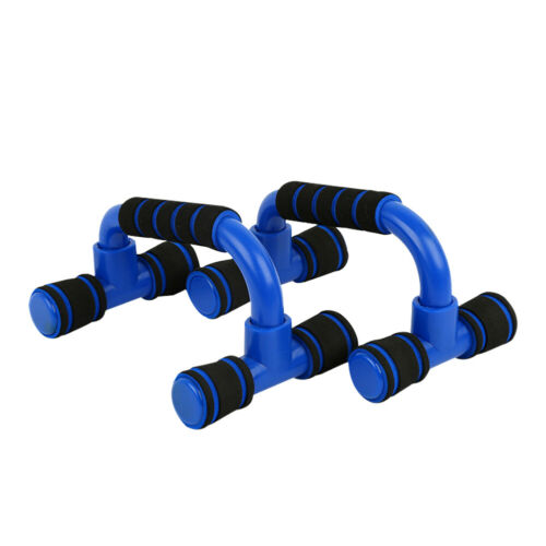 1 Pair Push Up Bar Stand Foam Handle for Chest Pull Press Gym Fitness Exercise