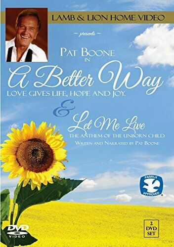 Pat Boone A Better Way  Let Me Live [DVD] [Region 1] [NTSC] [DVD][Region 2]