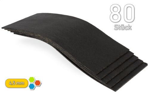 B4530 Akustik-MaXX 80 Bitumen 4,5mm Bitumenmatten 2m² Dämmung Antidröhn Orig