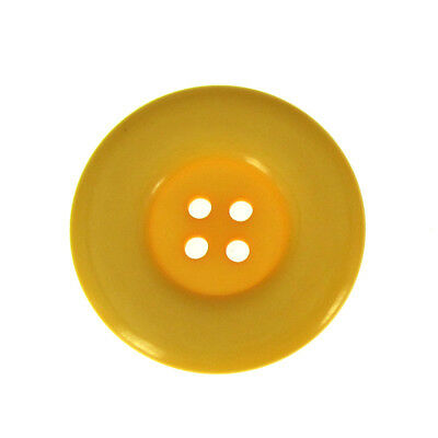 """12//24 1-1//2/"""" Orange Resin Buttons Large Buttons Fit Sewing Craft Scrapbook 38mm"""