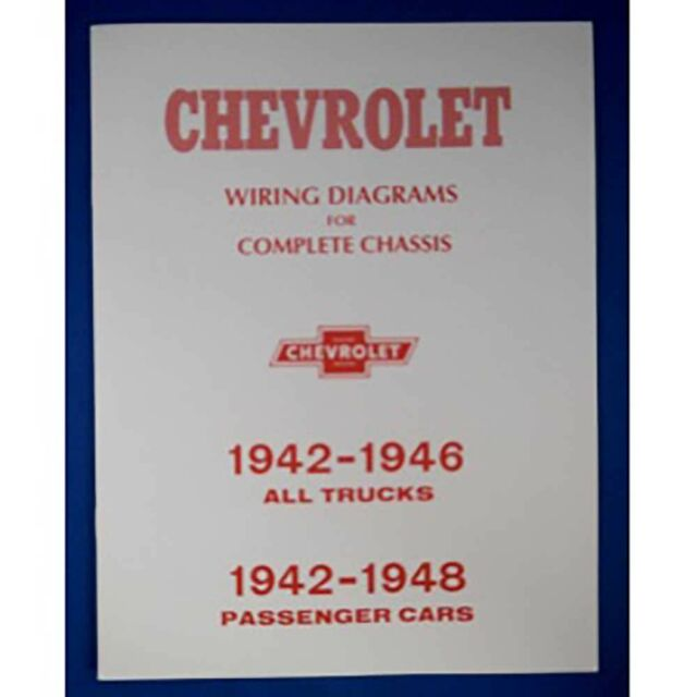 Chevrolet Chevy Gmc Truck Wiring Harness Diagram 1942