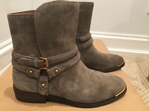 fb302f1ed95 Details about NEW UGG Australia KELBY MOUSE SUEDE HARNESS ANKLE BOOTS,  Style 1019151, size 7