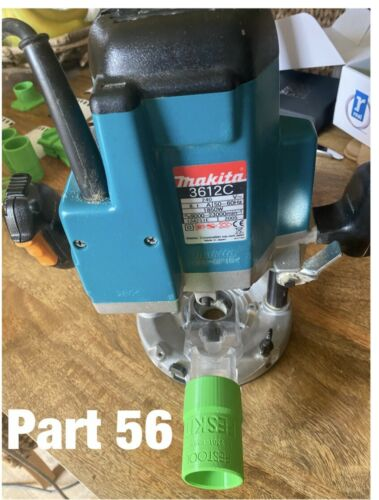 Makita Router To Festool Adaptor DRT50Z 2301//1801 DKP180 And Table Saws