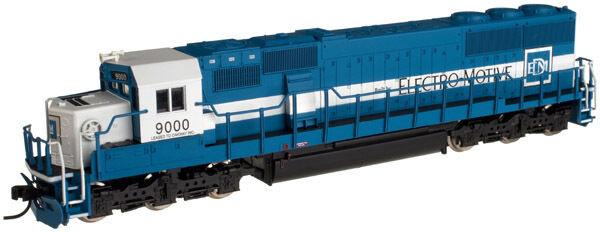 ATLAS 49073 N SD60 OWY 9000 (Oakway Leasing) - Brand New C-10 Mint