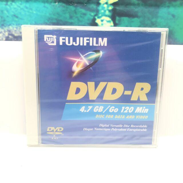 Fujifilm 4x DVD-R 4.7 gb  unopened sealed