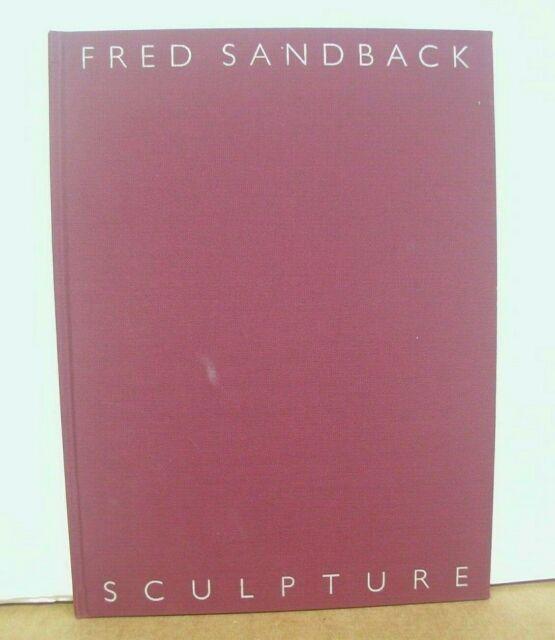 Fred Sandback Sculpture text Phyllis Tuchman 1991 Hardcover