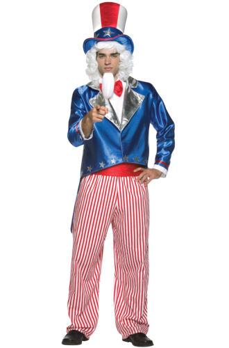 American Patriotic Uncle Sam Adult Costume