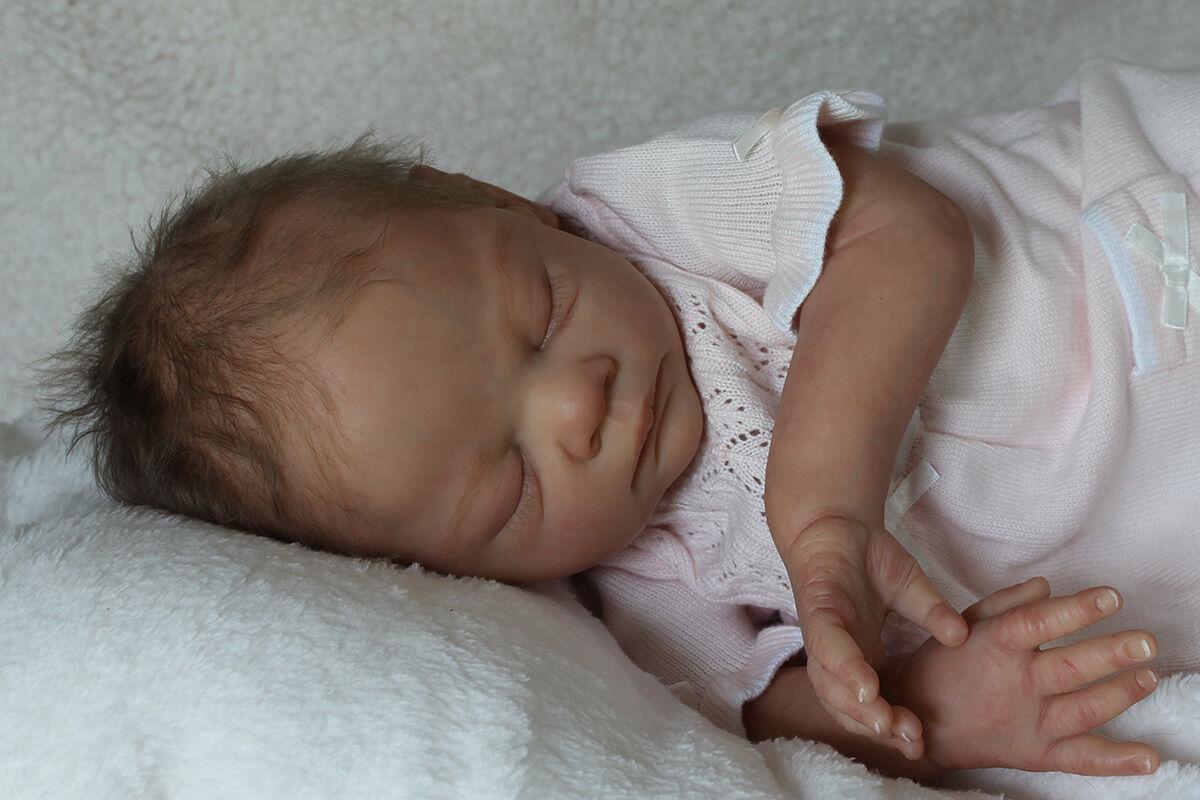 Personalizado Bebé Reborn  es una niña o un niño Por Tina Kewy  abrir o cerrar los ojos