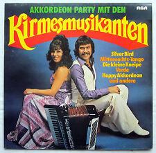 """12"""" Vinyl LP Akkordeon Party mit den KIRMESMUSIKANTEN"""