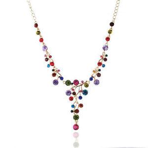Fashion-Crystal-Women-Bib-Collar-Choker-Chunky-Chain-Pendant-Statement-Necklace