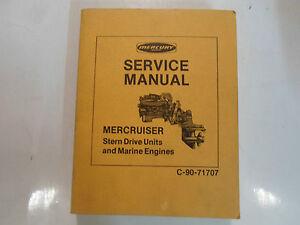 mercury marine mercruiser stern drive units marine engines service rh ebay com Mercruiser Sterndrive Parts Mercruiser Sterndrive Replacement