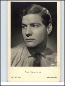 Echtfoto-AK-Film-Foto-Verlag-Kino-Buehne-Theater-Schauspieler-PAUL-HUBSCHMID