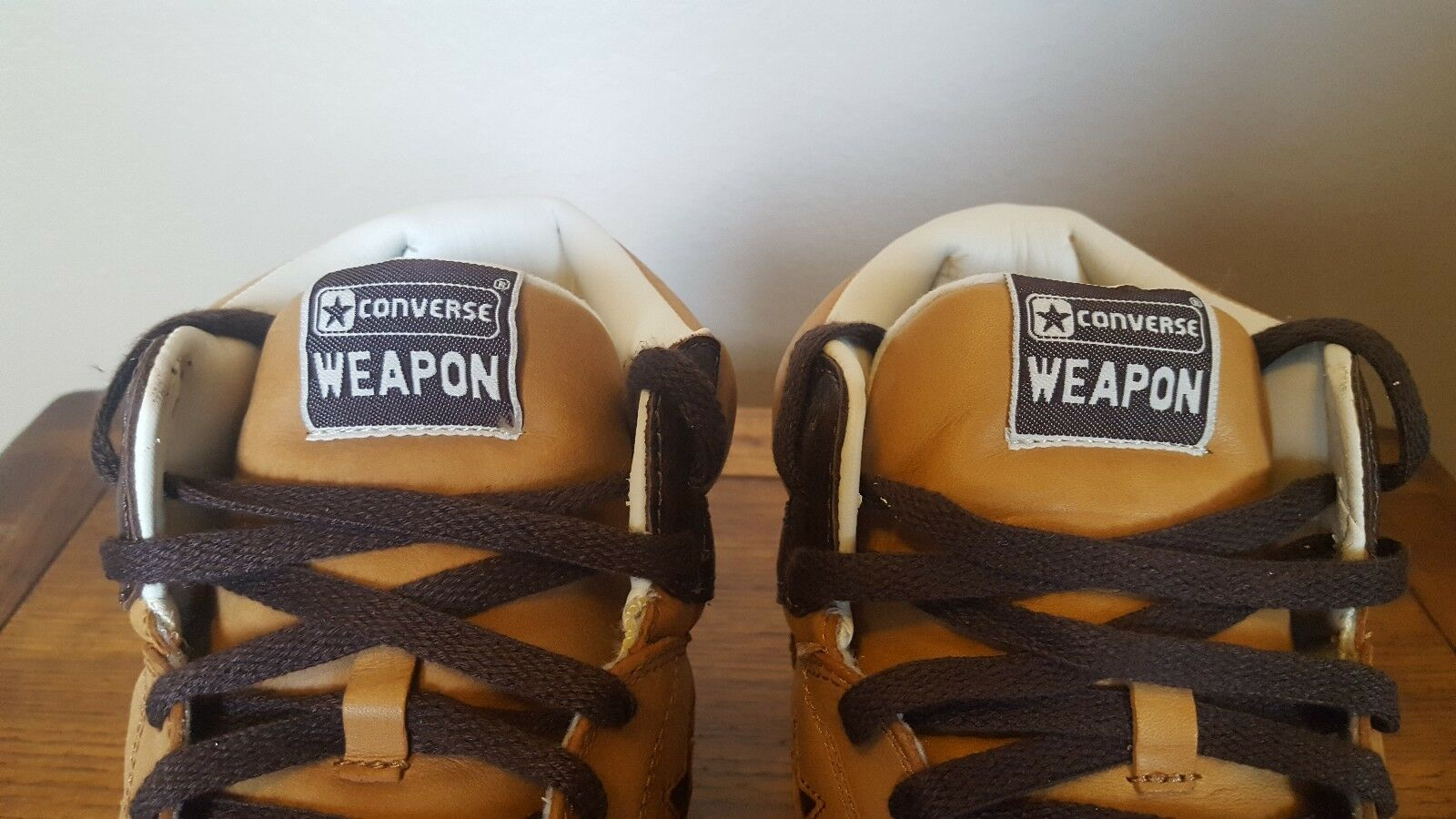 26155e08c2efbb Converse Weapon Brown   Ostrich Basketball Shoes Size 11.5 for sale online