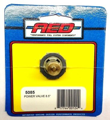 """AED 5035 3.5/"""" Power Valve High Flow Single Stage Holley Carburetor"""