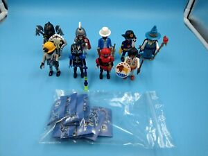 jouet-neuf-lot-de-9-figurines-playmobil-serie-12-9241