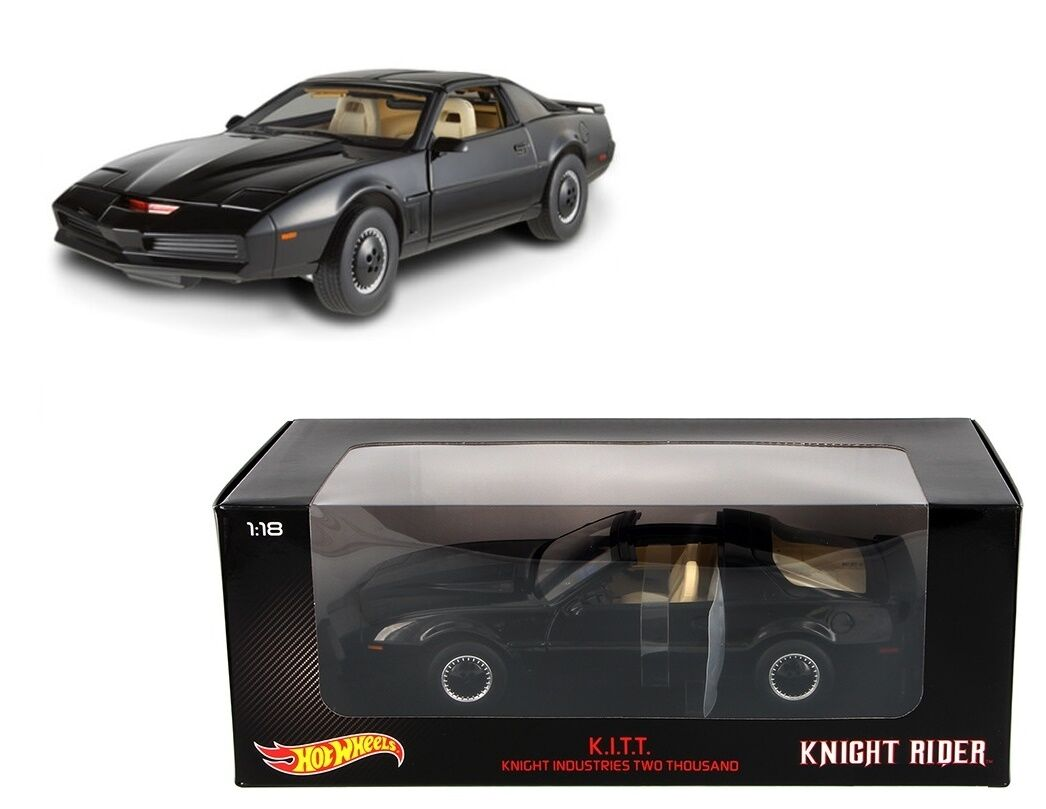 HOT WHEELS HERITAGE COLLECTION 1 18 DIECAST K.I.T.T. KNIGHT RIDER KITT MODEL