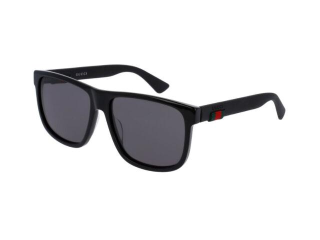 Gucci Gg0010s 58 16mm Herren Sonnenbrillen Schwarz Gunstig Kaufen Ebay