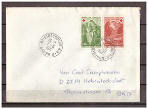 Frankreich-MiNr-1733-1734-Strassburg-Strasbourg-nach-Hohenlockstedt-07-06-1971