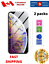 thumbnail 1 - Premium-Screen-Protector-Cover-for-iPhone-X-iPhone-XS-iPhone-11-Pro-2-PACK
